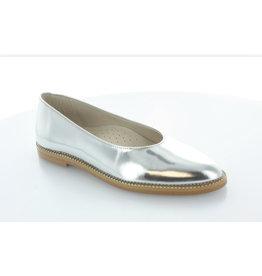 Hoo Hoo 2319A Silver Ballet Flat