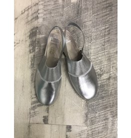 Hoo Hoo 2313B Silver-Gold Shoe