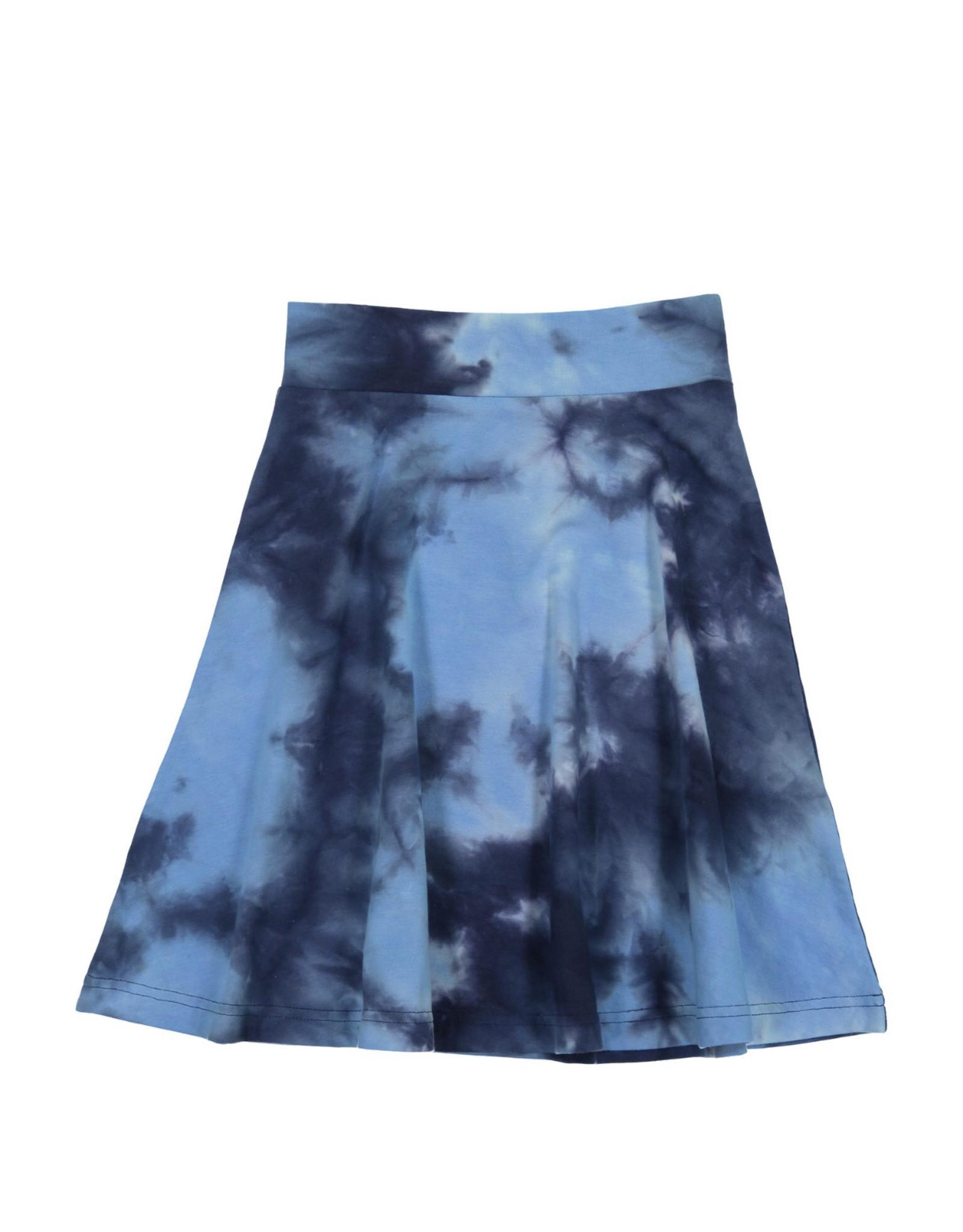 Three bows Three Bows Blue Tie Dye Skirt