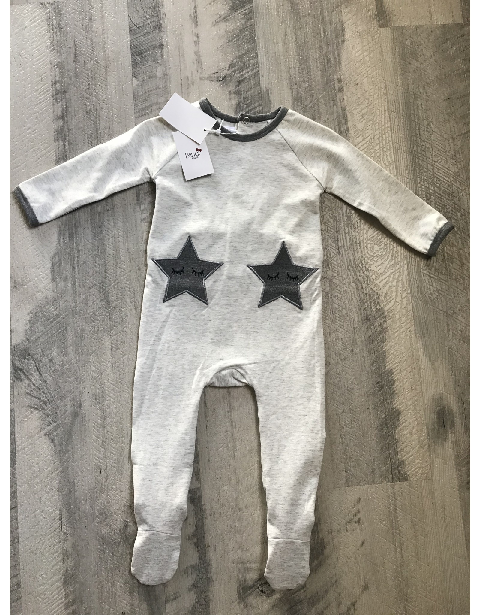 Blinqi Blinq Gry Star Footie