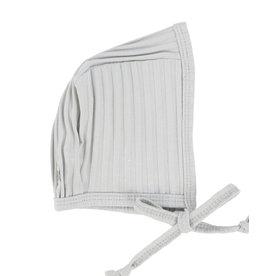 Lil leggs Lil Leggs Grey Wide Rib Bonnet
