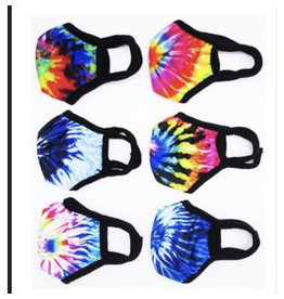 Confetti Confetti Tye Dye mask