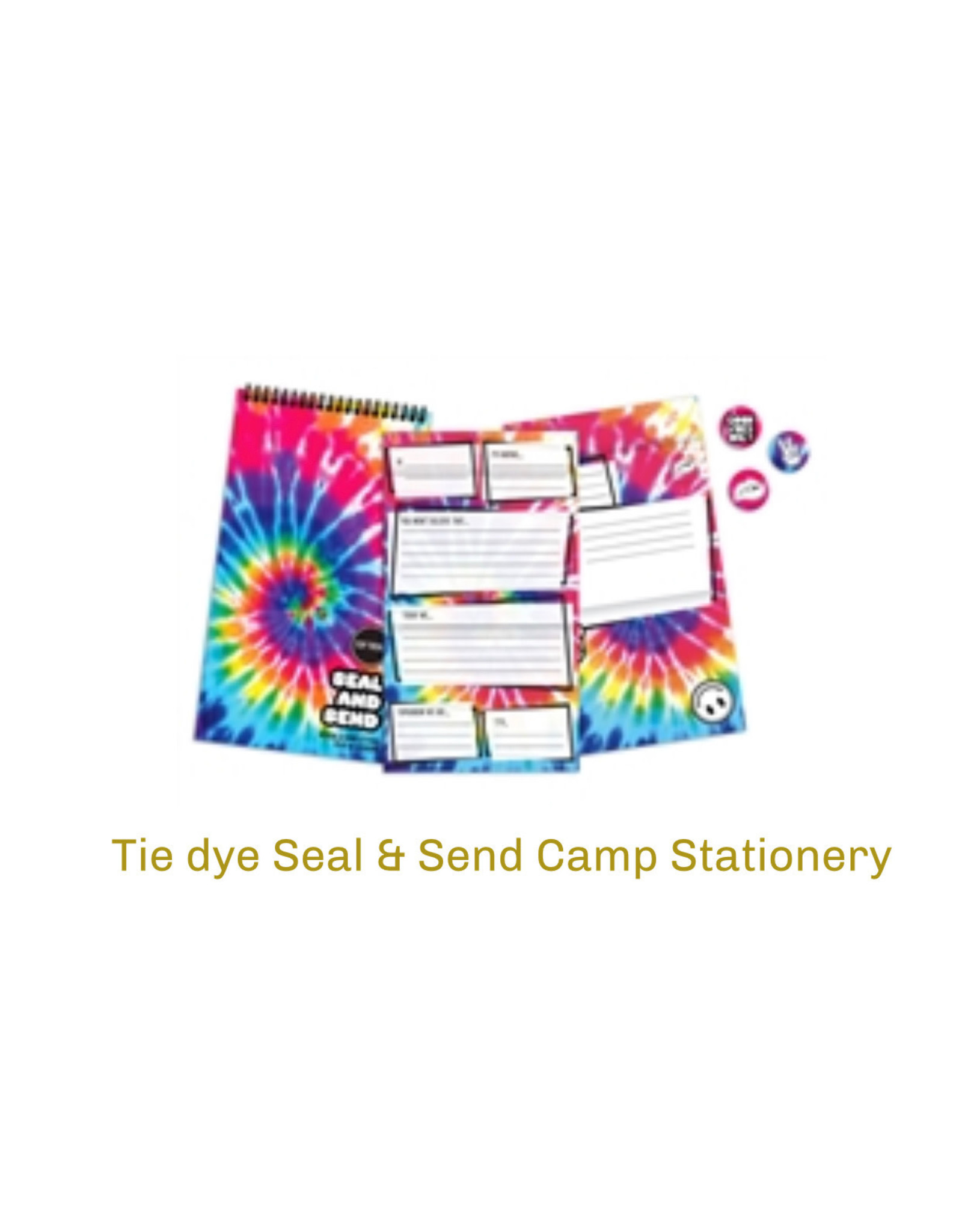 Top Trenz Camp Tie Dye Stationary
