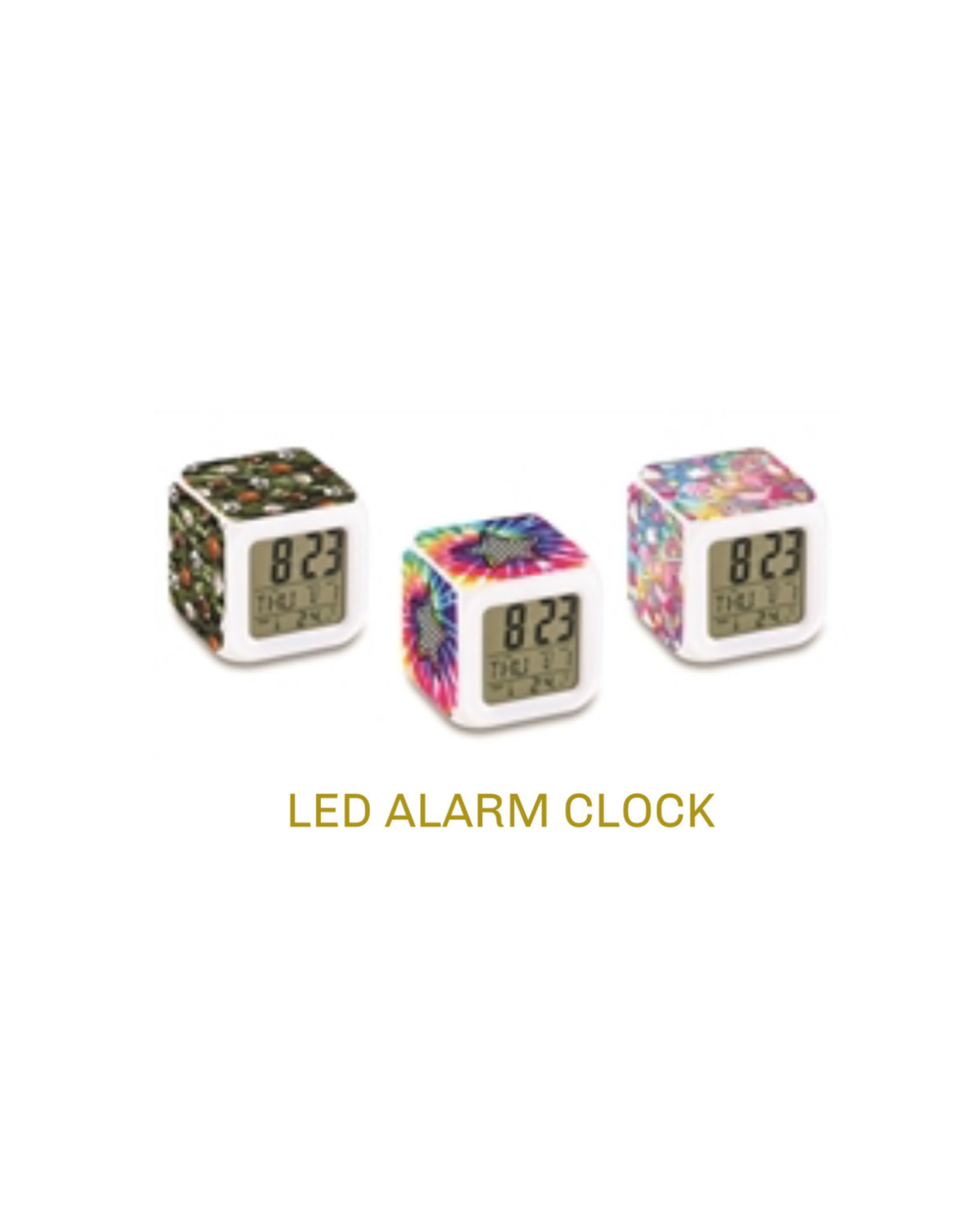 Top Trenz Camp LED clock