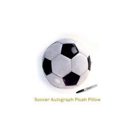 Top Trenz Camp Soccer Autograph Pillow