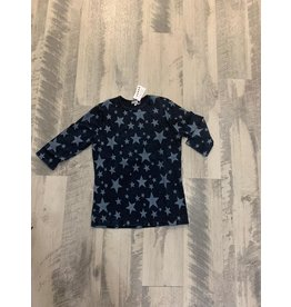 Five Star Five Star 4132G Drk Denim star top