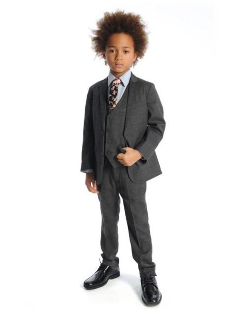 Appaman Appaman charcoal check suit