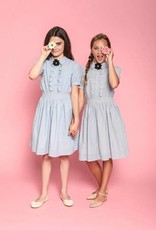 Aisabobo Aisabobo Ariel light blue dress