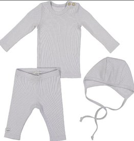 Lil leggs Lil Leggs3pc  blue/grey