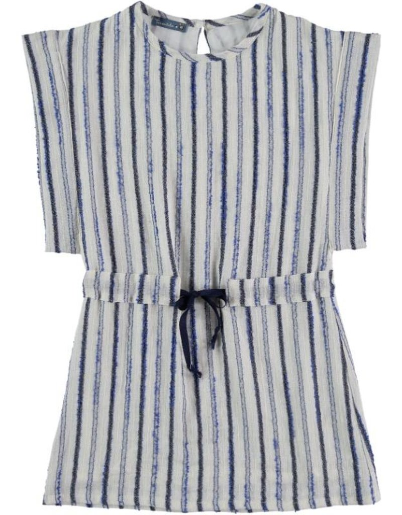 Tarantela Tarantela blue stripe dress