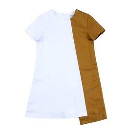 Petit clair Petit Clair white/caramel dress