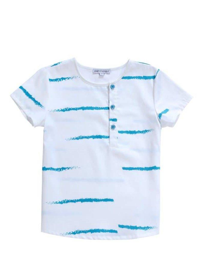 Petit clair Petit Clair white &  electric blue