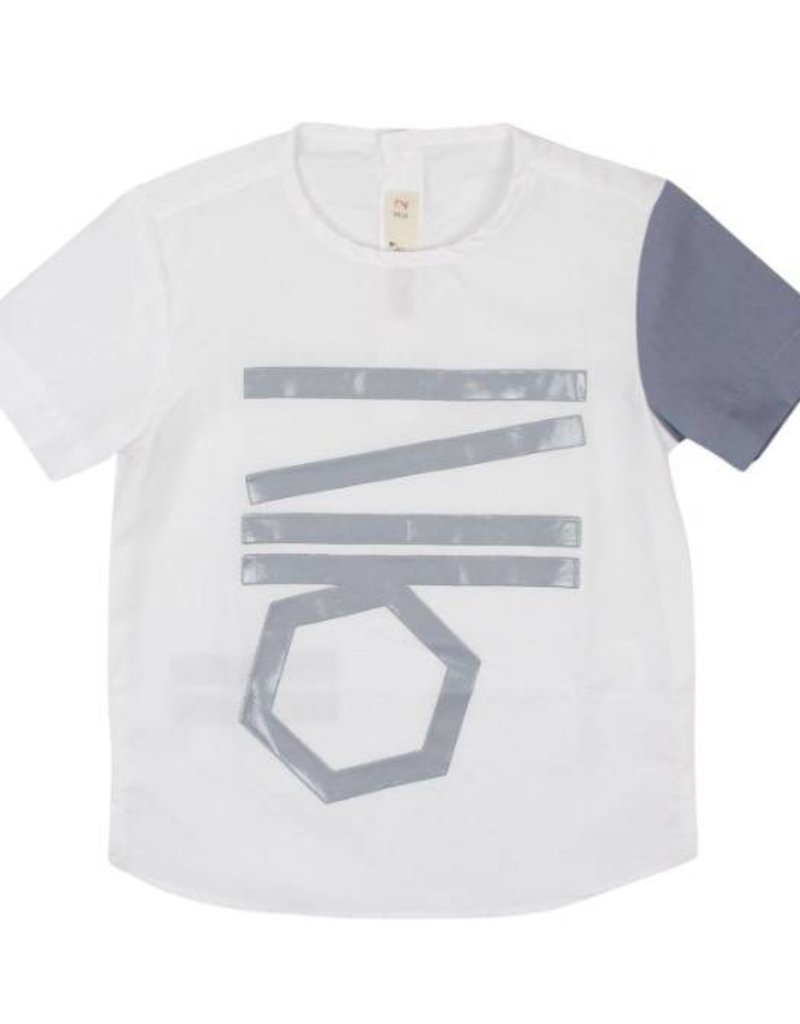nove Nove Grey Line Shirt