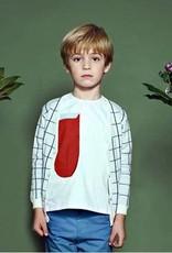 kipp kipp red long pocket shirt