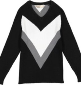 nove Nove V Knit Sweater