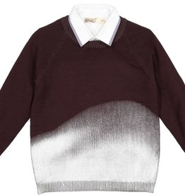 nove Nove Metallic 121 Sweater