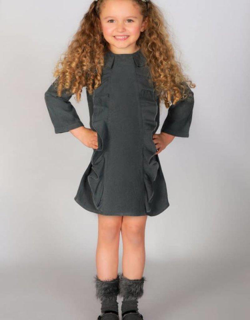 Jovilli Jovilli Charlote Grey Dress