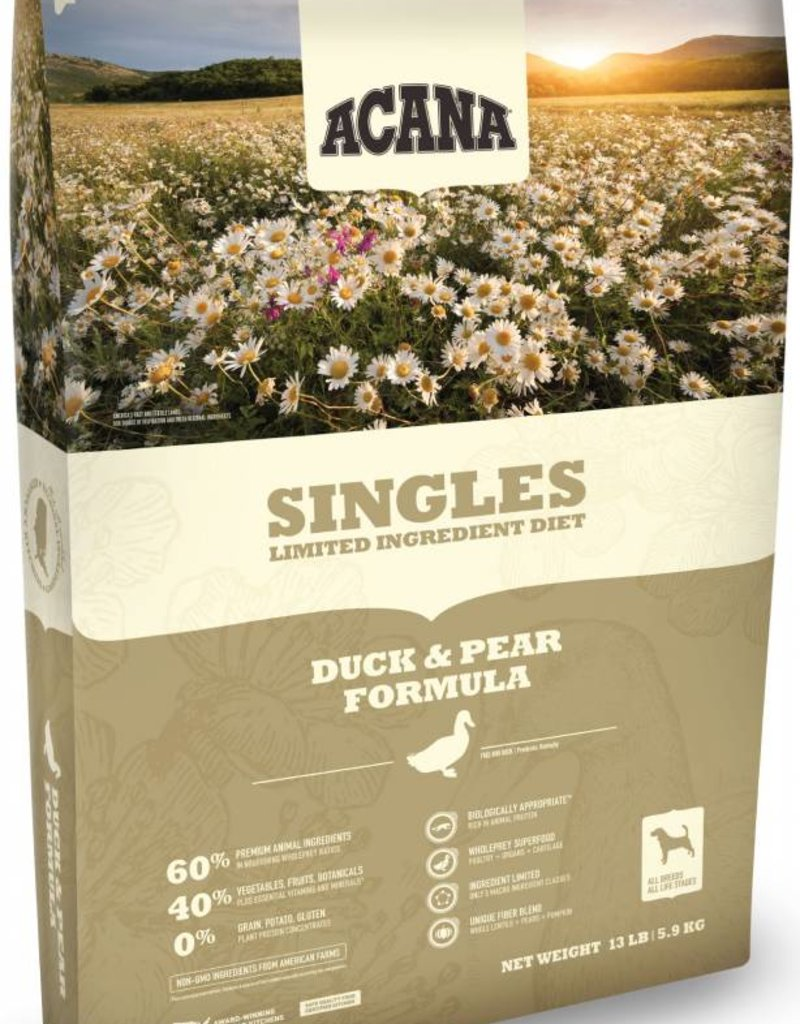 ACANA Acana Singles Duck & Pear Dog Food