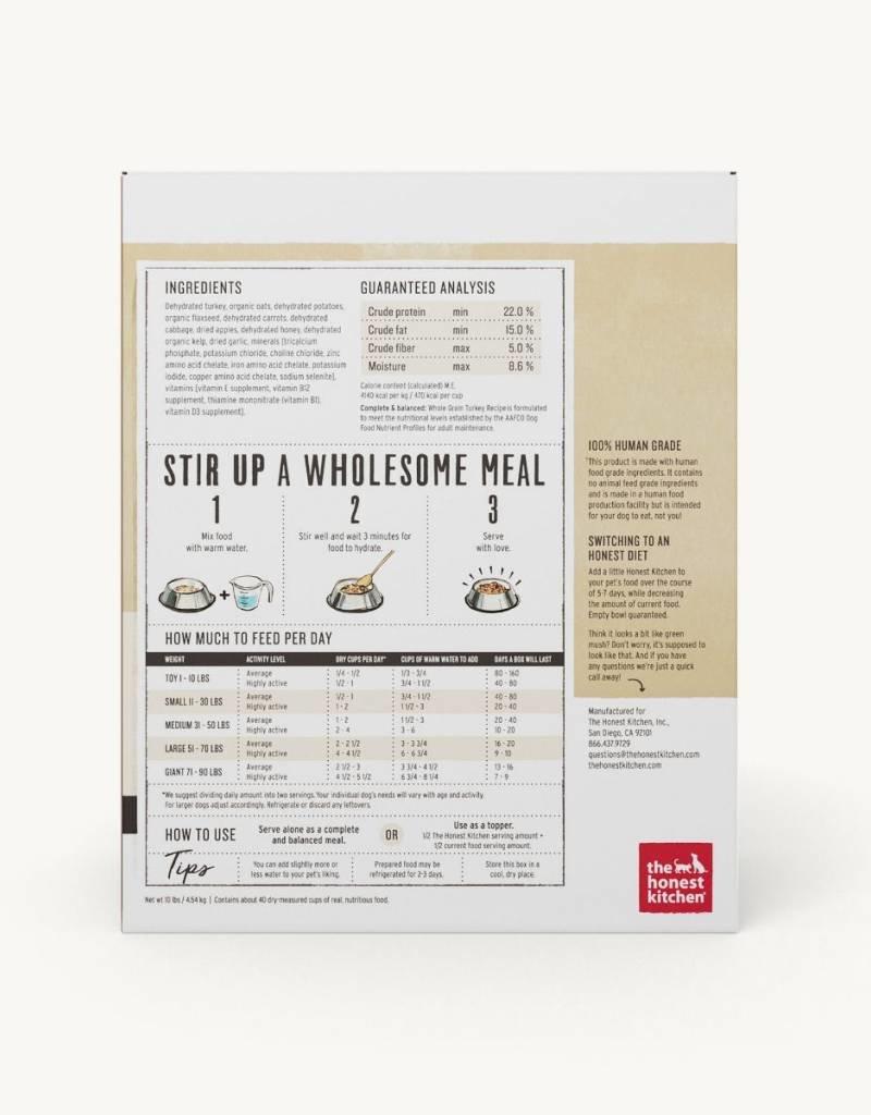 HONEST KITCHEN The Honest Kitchen Whole Grain Turkey Dog Food