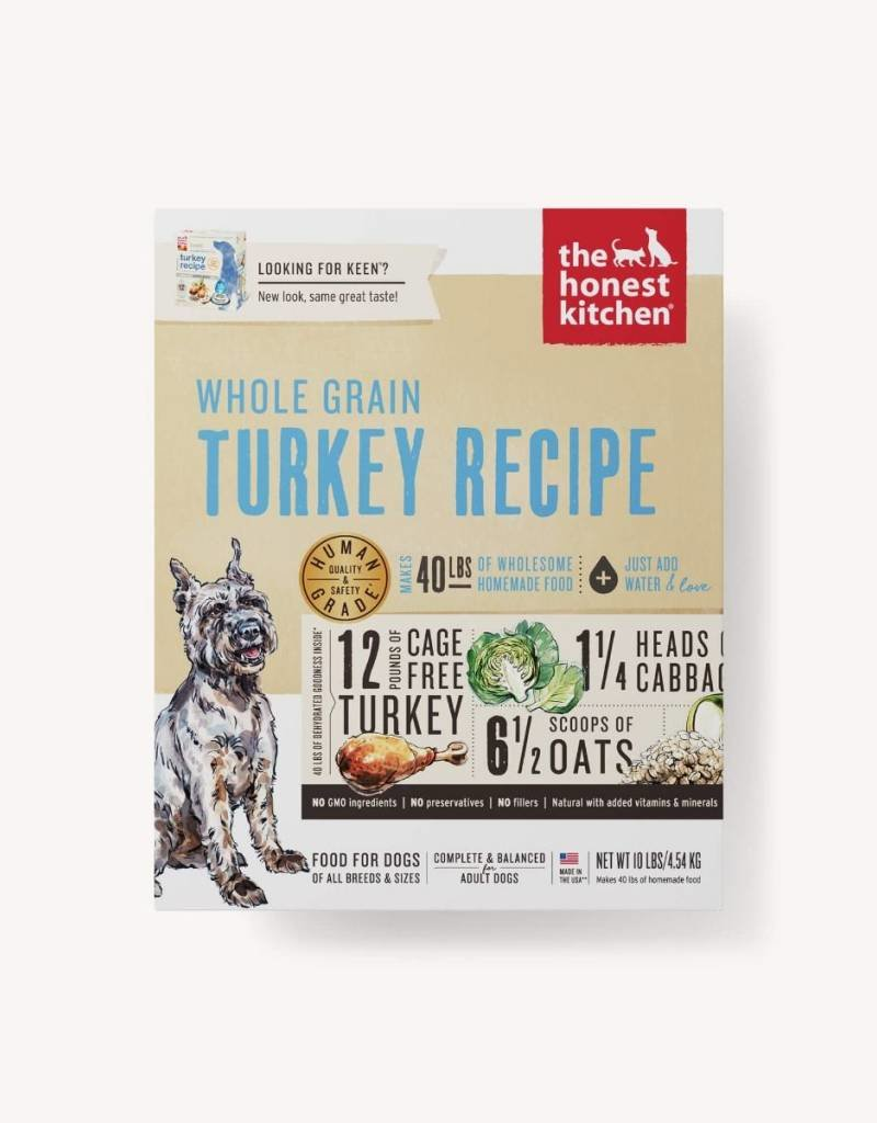 HONEST KITCHEN The Honest Kitchen Whole Grain Turkey Dog Food