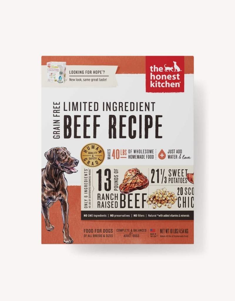 HONEST KITCHEN The Honest Kitchen Limited Ingredient Beef Dog Food