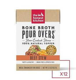 HONEST KITCHEN The Honest Kitchen Pour Overs Bone Broth Beef