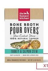 HONEST KITCHEN The Honest Kitchen Pour Overs Bone Broth Turkey & Salmon