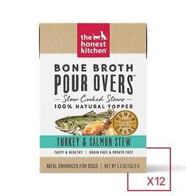 HONEST KITCHEN The Honest Kitchen Pour Overs Bone Broth Turkey & Salmon