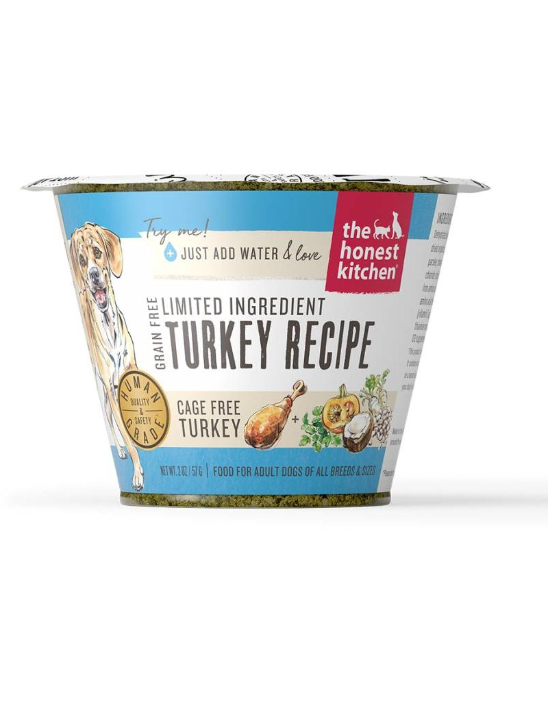 HONEST KITCHEN The Honest Kitchen Cups Limited Ingredient Grain Free Turkey 12/1.75oz