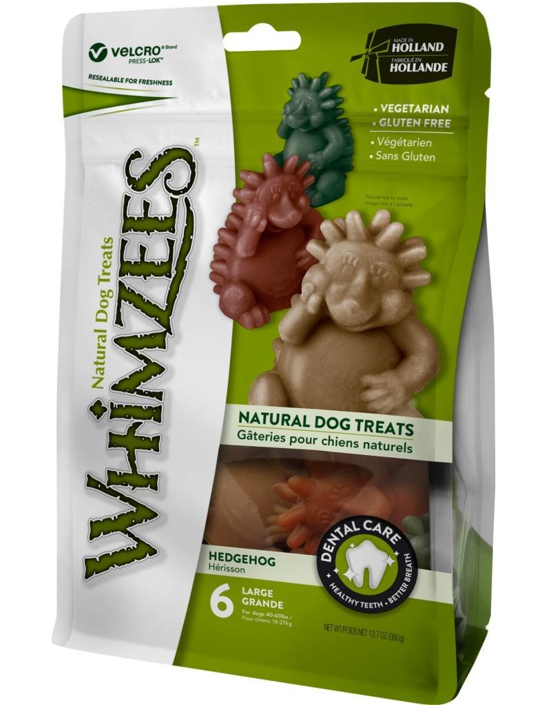 WHIMZEES Whimzees Hedgehog Dental Chews 12.7 oz