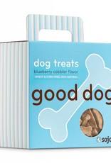 SOJOS Sojos Good Dog Blueberry Cobbler Treats 8oz