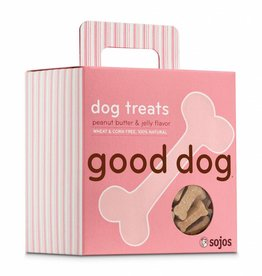 SOJOS Sojos Good Dog Peanut Butter & Jelly Treats