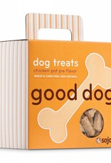 SOJOS Sojos Good Dog Chicken Pot Pie Treats 8oz