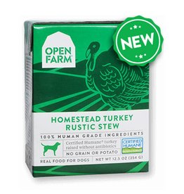 OPEN FARM Open Farm Rustic Turkey Stew for Dogs 12.5oz