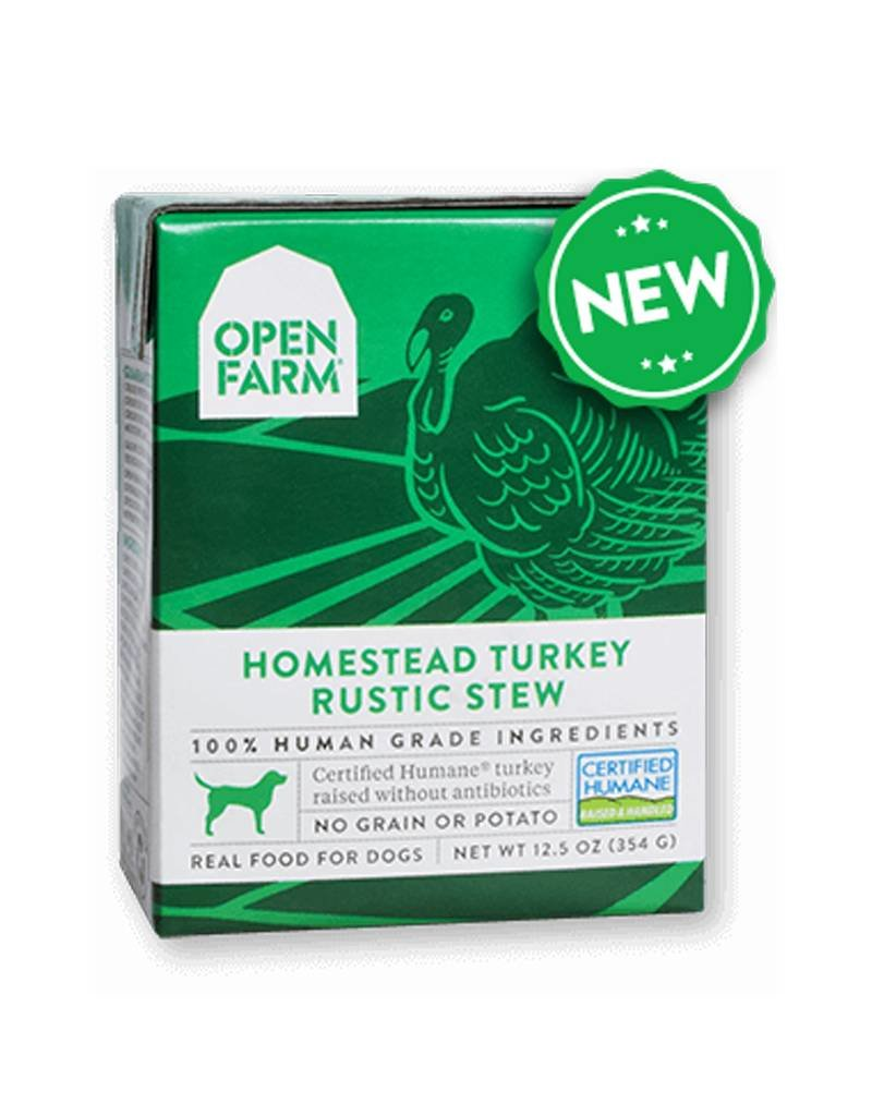 OPEN FARM Open Farm Rustic Turkey Stew for Dogs 12.5oz (Case of 12)