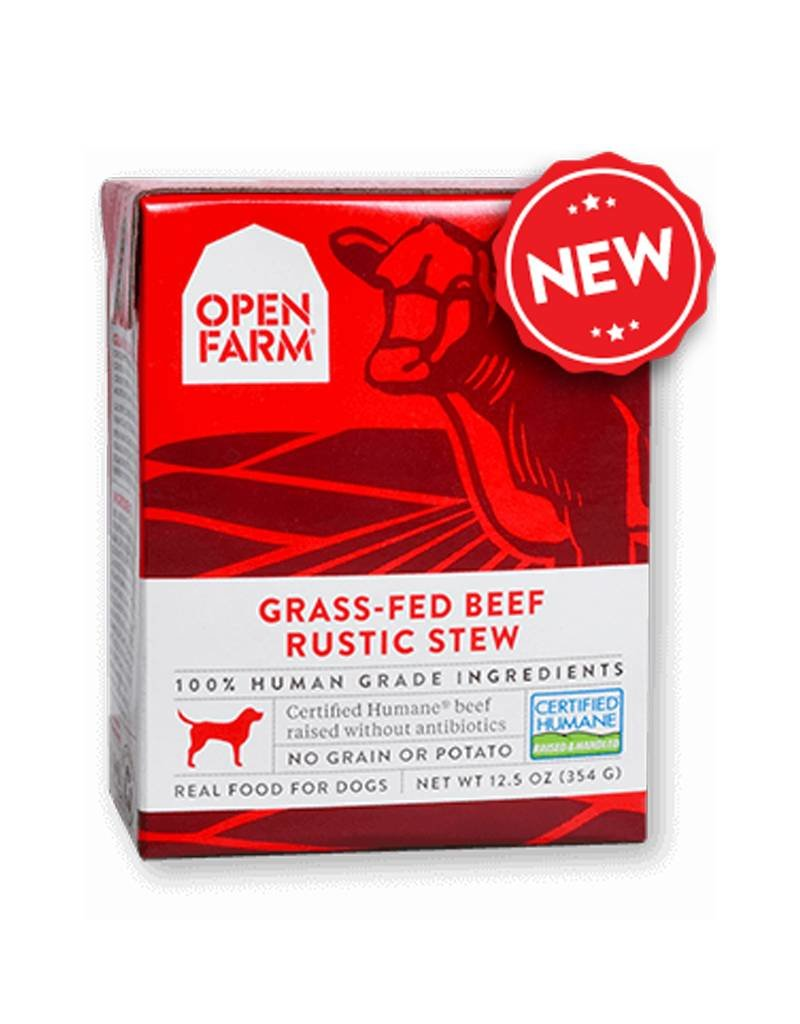 OPEN FARM Open Farm Rustic Beef Stew for Dogs 12.5oz (Case of 12)