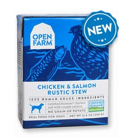 OPEN FARM Open Farm Rustic Chicken & Salmon Stew for Dogs 12.5oz