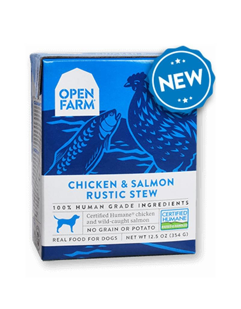 OPEN FARM Open Farm Rustic Chicken & Salmon Stew for Dogs 12.5oz (Case of 12)