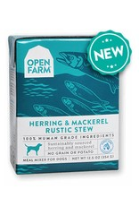 OPEN FARM Open Farm Rustic Herring & Mackerel Stew for Dogs 12.5oz (Case of 12)