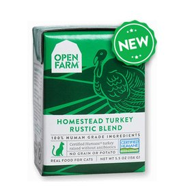 OPEN FARM Open Farm Rustic Turkey Blend for Cats 5.5oz