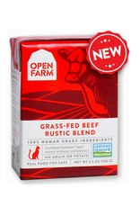 OPEN FARM Open Farm Rustic Beef Blend for Cats 5.5oz (Case of 12)