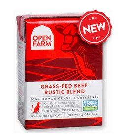 OPEN FARM Open Farm Rustic Beef Blend for Cats 5.5oz