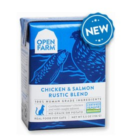 OPEN FARM Open Farm Rustic Chicken & Salmon Blend for Cats 5.5oz