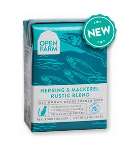 OPEN FARM Open Farm Rustic Herring & Mackerel Blend for Cats 5.5oz