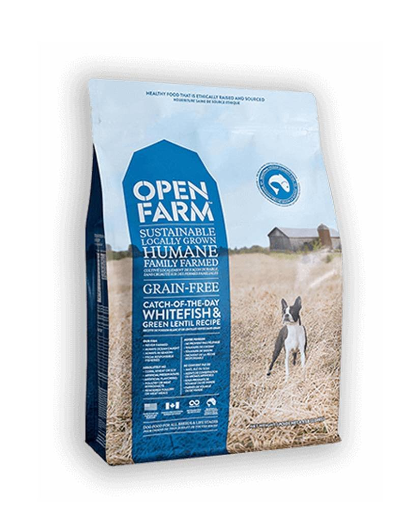 OPEN FARM Open Farm Catch of the Season Whitefish & Green Lentil Dog Food