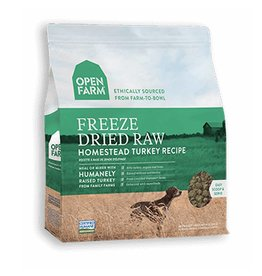 OPEN FARM Open Farm Freeze Dried Turkey Dog Food 13.5oz