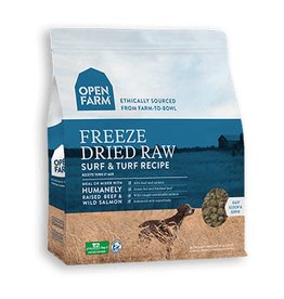 OPEN FARM Open Farm Freeze Dried Surf & Turf Dog Food 13.5oz