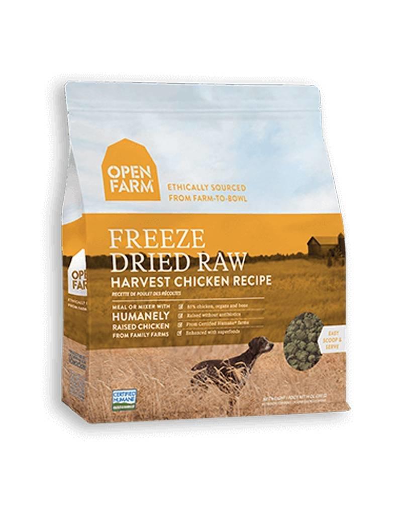 OPEN FARM Open Farm Freeze Dried Chicken Dog Food 13.5oz