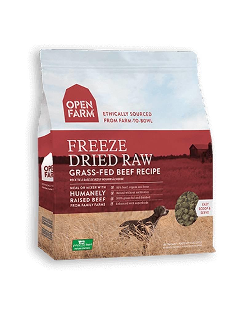 OPEN FARM Open Farm Freeze Dried Beef Dog Food 13.5oz