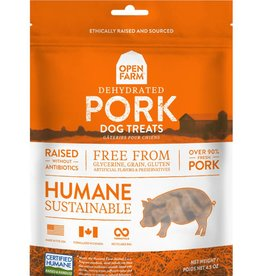 OPEN FARM Open Farm Dehydrated Pork Dog Treats 4.5oz
